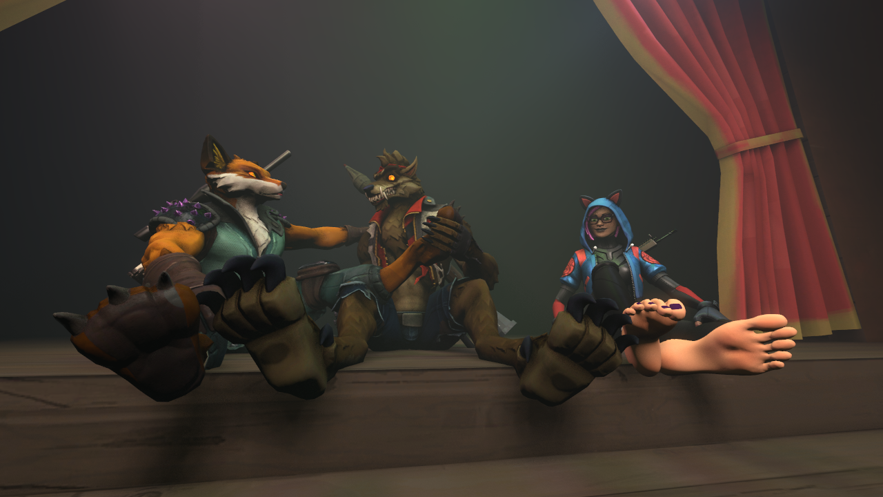 Fortnite Dire Fennec Request Footnite Squad By Interactivefootstuff Fur Affinity Dot Net