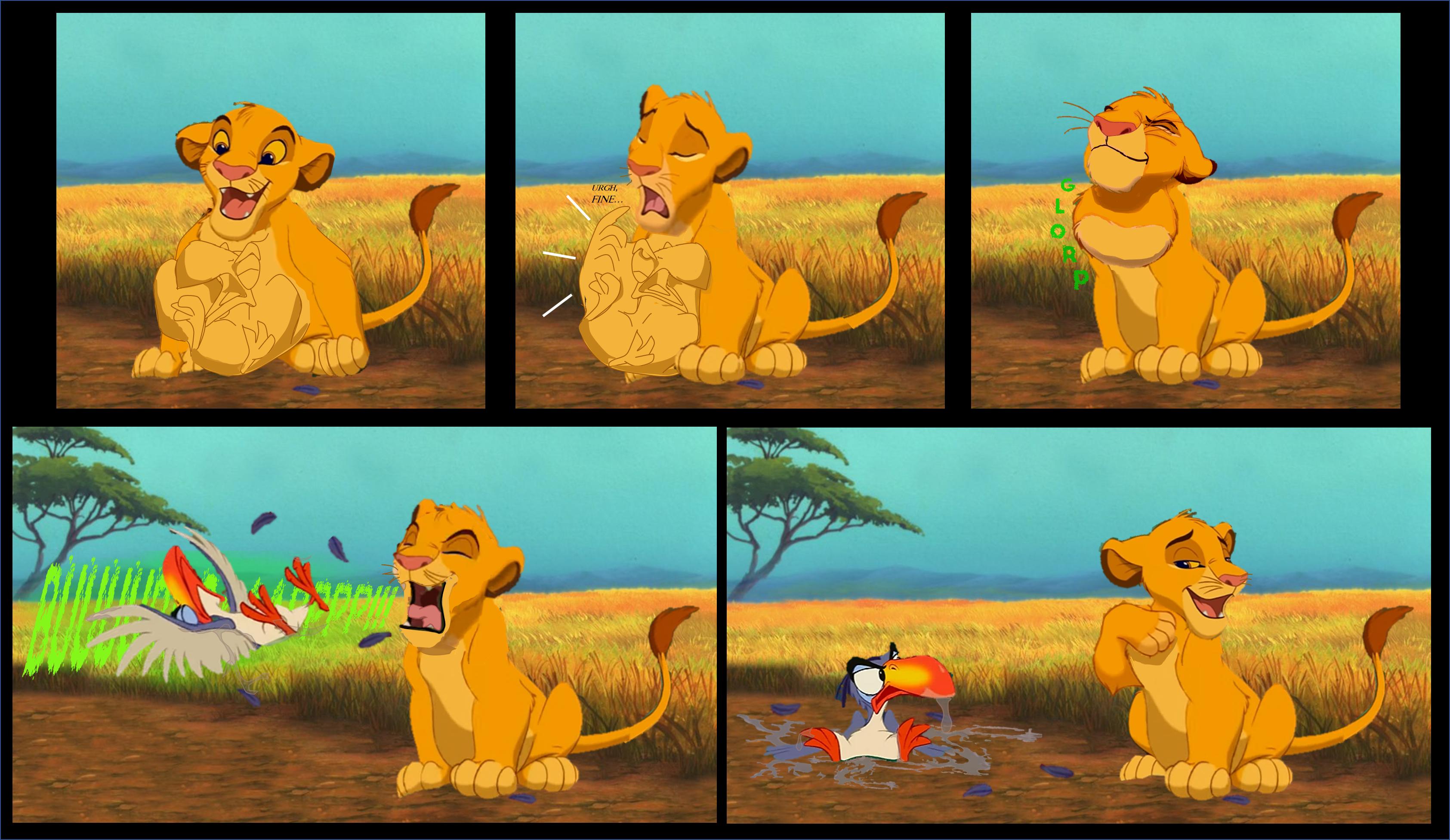 Vore lion male pred